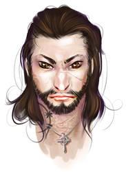 Kanrik face doodle by posteyam
