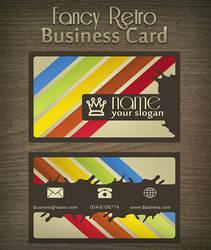 Retro Business Card by MosheSeldin