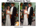 Photo Retouch for Toni by vmcampos