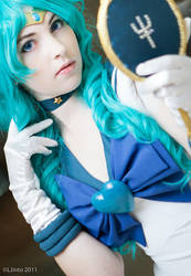 Into the Blue - Sailor Neptune by HelenaTears