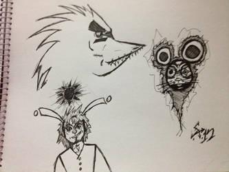 Sketchdump2 by ELSylant