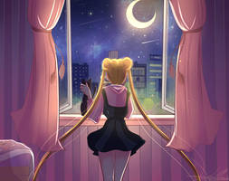 moon light by Invader-celes