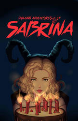 chilling adventures of sabrina poster by Invader-celes