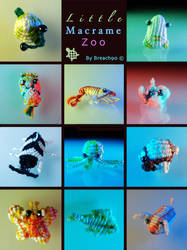 Little Macrame Zoo by Breach90