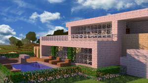 HD wallpaper | Minecraft House by PoPlioP