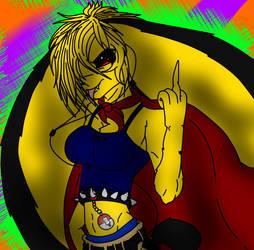 Alex Pichu (genderbend) by pokeyinmypocket