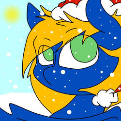 the snowed Pegasus by pokeyinmypocket