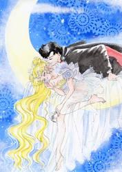 Dreaming Princess Serenity by ladymadge