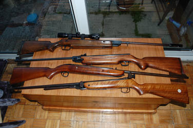 Four old airguns.. by johnbaz