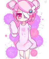 Pinky by AmemiyaHare