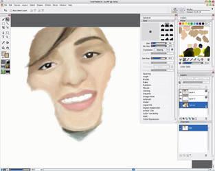 portrait_in_process by WantedMan
