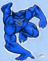 Beast of X-Men and Avengers by Ragnaroker