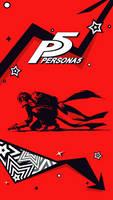 Persona 5 Phone Wallpaper by SaySay228