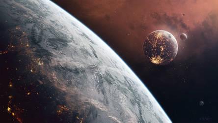 Hades' Star - Ice Planet by GabrielBStiernstrom