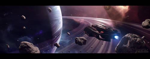 Hades' Star - Cerberus Guardian by GabrielBStiernstrom