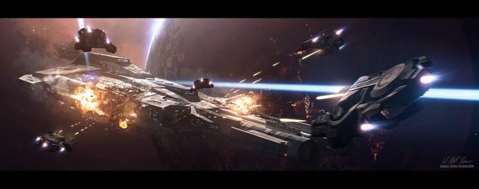 Hades' Star - Cerberus Sentinels by GabrielBStiernstrom
