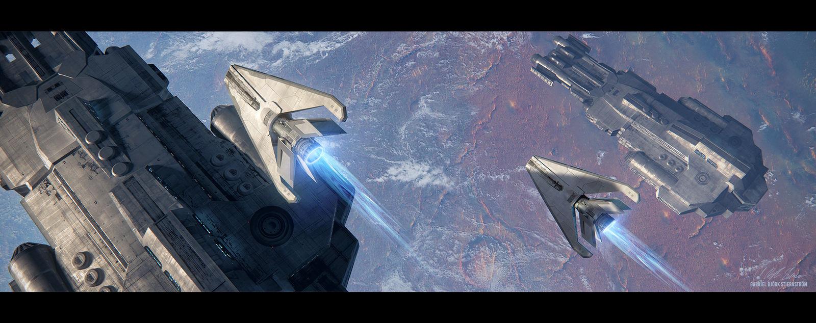 Hades' Star - Drones by GabrielBStiernstrom