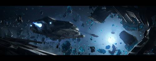 Hades' Star - Blue Star by GabrielBStiernstrom