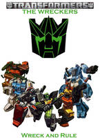 Wreckers Poster by KnightsFury