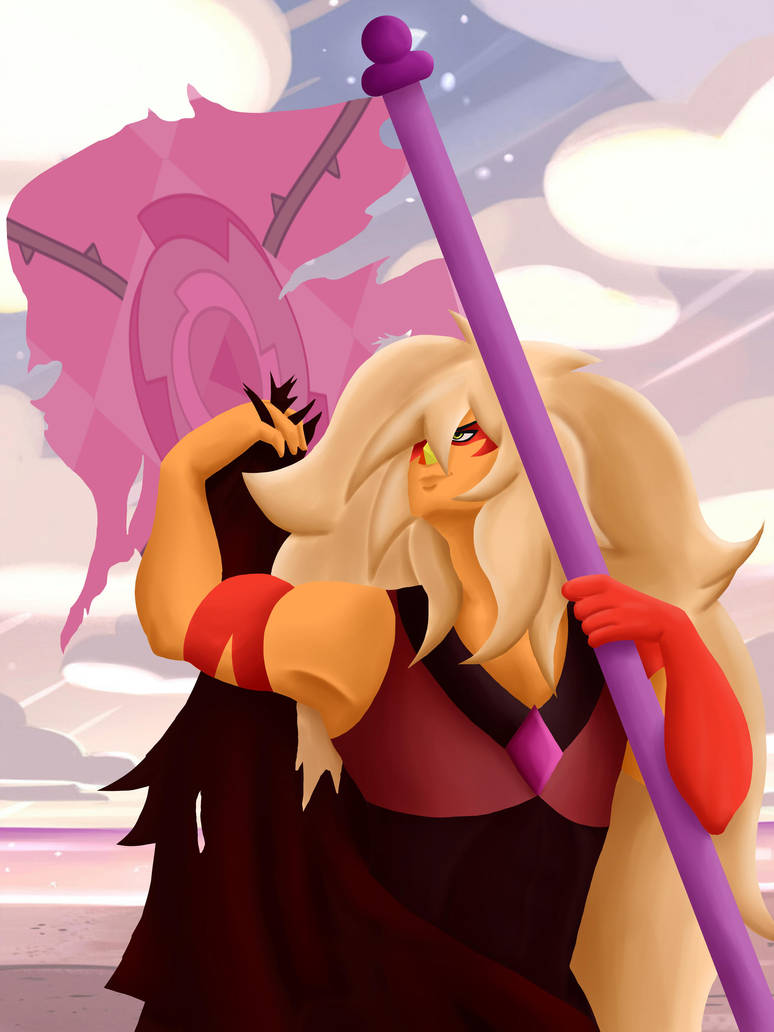 special art for my lovely Jasper win with gruba Rose Universe Jasper - Steven Universe