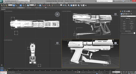 DC-15s Side Arm Blaster 3D Model by ronime