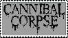 Grey Cannibal Corpse stamp by SallyGauge