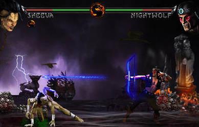 Mortal Kombat Fake - Kintaro vs Jade by riki0017 on DeviantArt