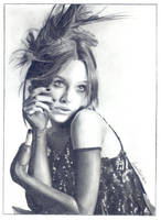 Keira Knightley by Art-By-Candi