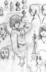Sketches for WUJI BREAKDOWN by mag744