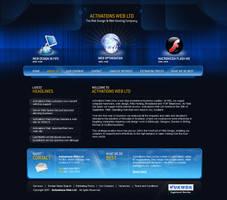 Activate-web by pixelzeesh