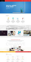 Mirage - 6 pages PSD Pack by pixelzeesh
