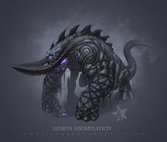 Demon Abomination by JomaroKindred