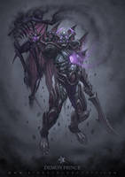 Kurai the Demon Prince by JomaroKindred