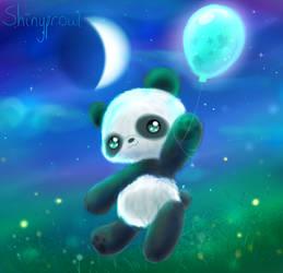 ~Balloon Panda~ by Shinyprowl