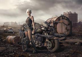 Wasteland Vagabond (2017) by Kiriya