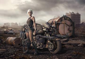 Wasteland Vagabond by Kiriya