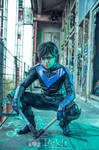 Nightwing unmasked! TITANS by Tenraii