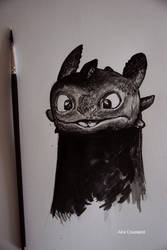 Toothless by AiraCousland