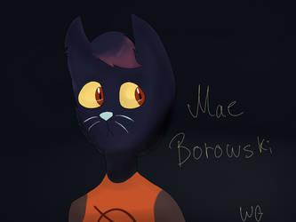 Mae Borowski by WannabeGirley