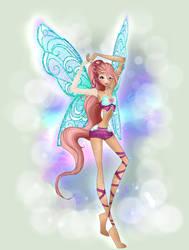Candy Lucetix transformation by EnchantedByMagic