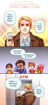 The Avengers-Cap's manners by Athew