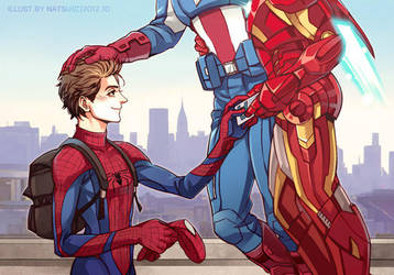 Marvel-come on Spidey by Athew