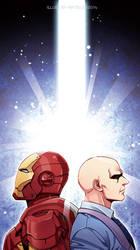 Marvel-Tony and charles by Athew