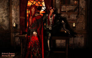 The Bloodstorm Twins by Niekra