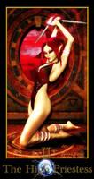 Tarot: The High Priestess by Niekra