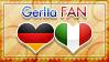 Hetalia GerIta Fan - Stamp by World-Wide-Shipping