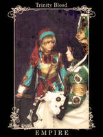 Seth and Ion. Trinity Blood by alberti