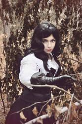 Yennefer: Witcher by alberti