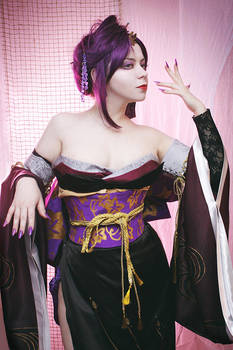 Samurai Warriors Nou Hime by alberti