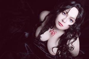 Fullmetal alchemist. Lust. Cosplay wig-test by alberti